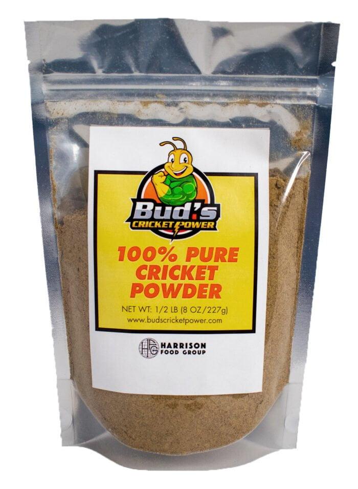 Half pound bag of cricket powder