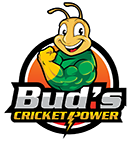 Bud's Cricket Power | Sustainable Cricket Protein Powder Logo
