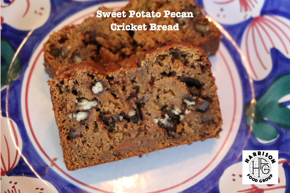 Sweet Potato Pecan Cricket Bread Bud's Cricket Power