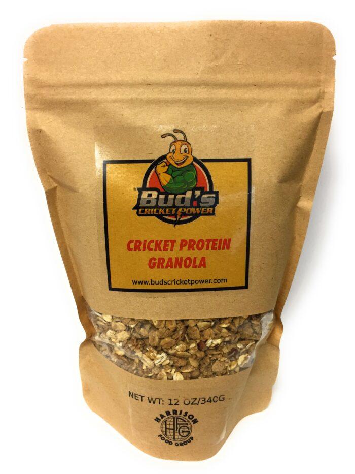 Bud's Cricket Power Cricket Protein Granola