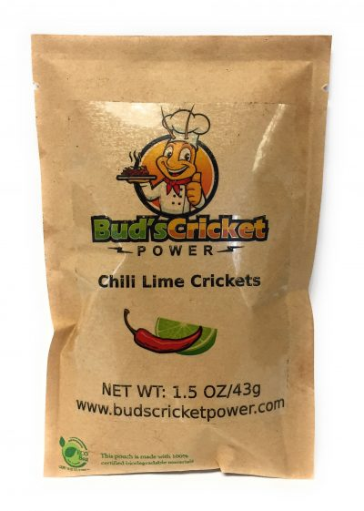 Chili Lime Crickets Bud's Cricket Power