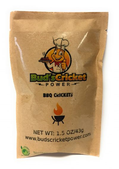 Bud's Cricket Power BBQ Crickets